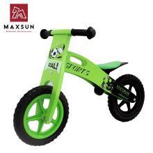 maxsun儿童平衡车无脚踏木制滑行学步车德国小木车童车