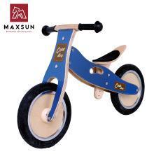 maxsun儿童平衡车无脚踏木制滑行学步车德国小木车童车周岁---汉普车