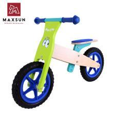 maxsun儿童平衡车木制滑行学步车德国小木车自行车儿童童车