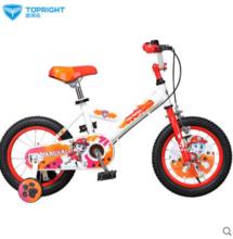 途锐达自行车儿童3岁6岁男女孩童车14寸宝宝单车脚踏车汪汪队玩具
