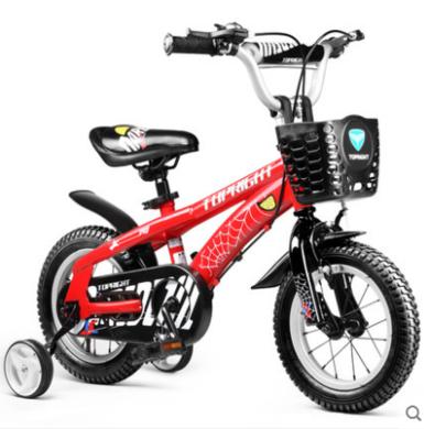 Topright途锐达蜘蛛侠(经典)儿童自行车14寸单车脚踏车男孩脚踏单车男女宝宝小孩童车