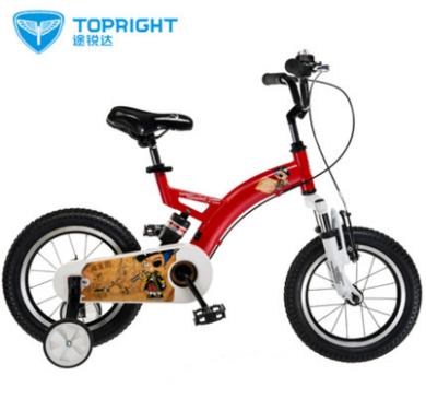 Topright途锐达小海盗儿童自行车男女孩宝宝单车脚踏车12寸14寸16寸18寸小孩童车