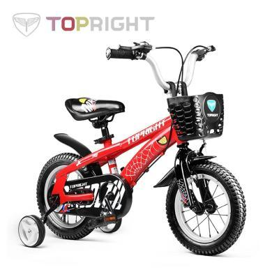 途锐达(TOPRIGHT) 儿童自行车14寸16寸18寸男女宝宝单车2岁3岁6岁小孩童车玩具车 rtzxc26