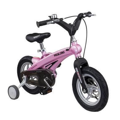 英莱儿 儿童自行车男女小孩单车14/16寸山地车前后碟刹充气轮附轮zxc15