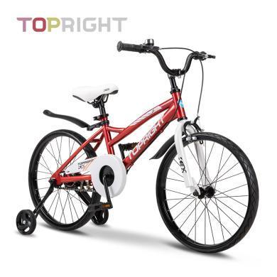 Topright途銳達蜂鳥高分子實心免充氣胎黑科技兒童自行車免充氣童車