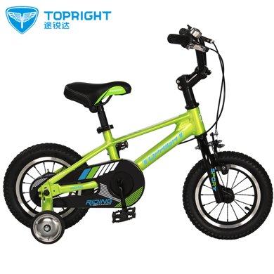 Topright途锐达猛禽儿童自行车单车脚踏车3岁以上儿童自行车 18 寸小孩自行车童车