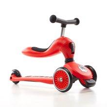 COOGHI/酷骑儿童二合一多功能平衡车1-5岁--圣诞红