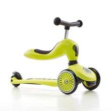 COOGHI/酷骑儿童二合一多功能平衡车1-5岁---柠檬黄