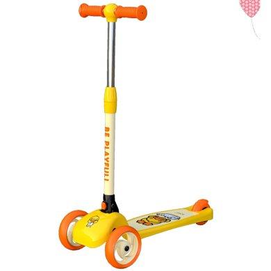 兒童滑板車便攜式可折疊三輪兒童滑板車兒童滑板車LD滑板車