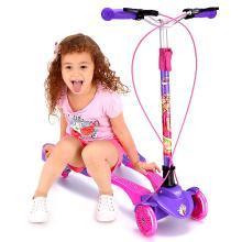 英萊兒 四輪蛙式車3-12歲小孩寶寶剪刀車雙腳溜溜車兒童滑板車lhwjc2
