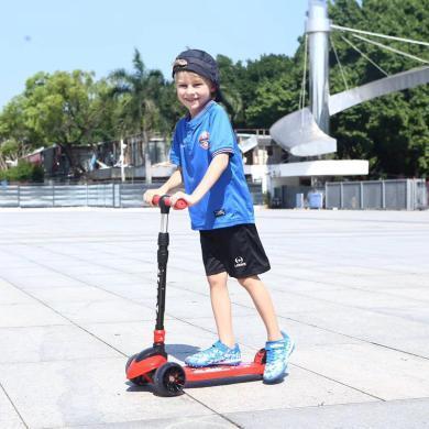 英萊兒 兒童滑板車寬輪閃光輪2-3-6-12歲小孩溜溜車踏板車寶寶折疊滑滑車lhwjc5