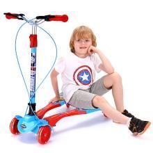 英萊兒 托馬斯兒童滑板車四輪蛙式車3-12歲小孩寶寶剪刀車男孩雙腳溜溜車lhwjc3