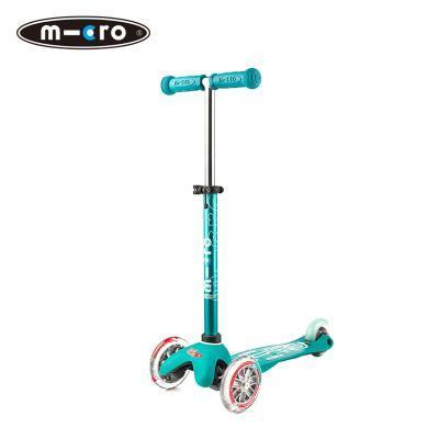 瑞士micro迈古米高儿童滑板车 ?#20387;?#35799;迷你mini可调节高度可拆卸 儿童三轮多色