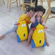 臭屁虫滑行车1-3岁宝宝助跑车摇摆平衡玩具LXX-CPC