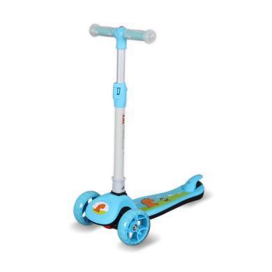 兒童滑板車三輪車音樂腳踏車2-10歲寶寶平衡車男童女童滑板車JY089