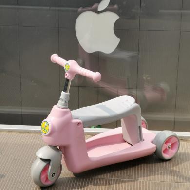 兒童滑板車3輪踏板車寶寶可坐兒童滑行車適合1-5歲兒童玩具童車LXX