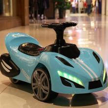 英萊兒 新款兒童汽車滑行車溜溜車扭扭車男女寶寶可座可騎四輪小汽車 lhwjc37