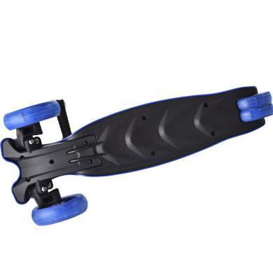英莱儿 滑板车儿童 一秒折叠升降闪光四轮踏板车lhwjc12