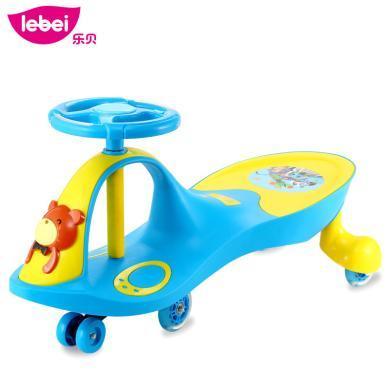 樂貝兒童扭扭車溜溜車女寶寶搖擺車萬向輪1-3-6歲滑行男孩妞妞車