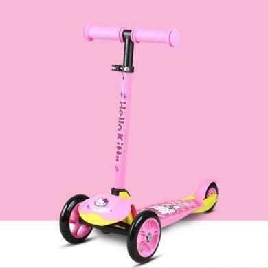 奧特王 凱蒂貓系列兒童滑板車溜溜車滑滑車