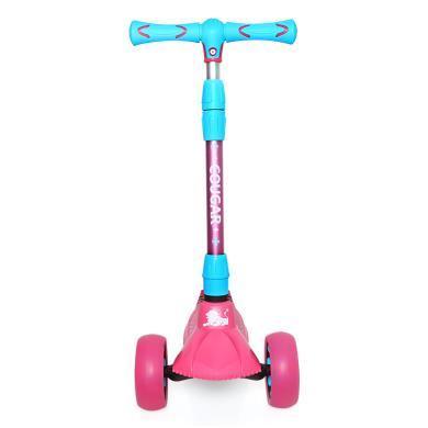 美洲狮加大宽儿童男女滑板车3岁6岁宝宝单脚踏板车小孩滑滑代步车