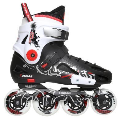 新款轮滑鞋成人男女大学生溜冰鞋直排轮旱冰鞋初学平花鞋 MZS307