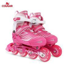 新款溜冰鞋兒童閃光輪滑鞋男女滑冰旱冰鞋全套裝 歐盟品質 MZS705