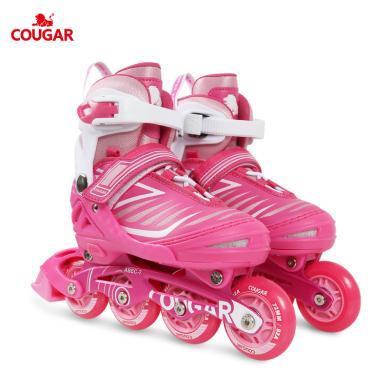 新款溜冰鞋儿童闪光轮滑鞋男女滑冰旱冰鞋全套装 欧盟品质 MZS705
