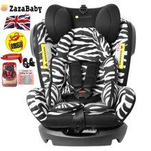 ZazaBaby 汽車兒童安全座椅ISOFIX 0-4-7-12歲嬰兒寶寶新生兒可躺-精靈騎士