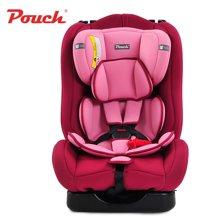 pouch Q18婴儿安全座椅0-4-6岁新生儿宝宝便携式儿童安全座椅汽车用 双向安装 0-6岁适用