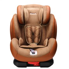 Pouch KS02儿童安全座椅 isofix9个月-12岁 车载宝宝汽车坐椅欧标认证 铠甲勇士 防护升级