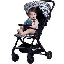 ZaZaBaby 嬰兒推車兒童車寶寶手推車避震輕便傘車折疊可坐躺bb車za-1128