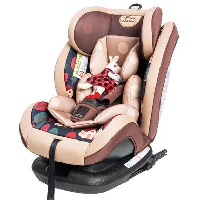 貝貝卡西0個月-12歲寶寶新款ISOFIX接口嬰兒童安全座椅汽車用
