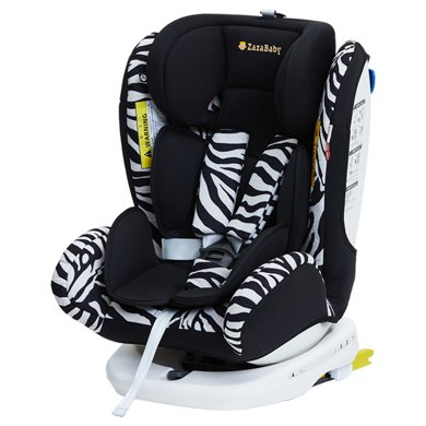 ZazaBaby寶寶汽車嬰兒童安全座椅isofix接口0-4-6-12歲360度旋轉 Za-精靈騎士plus