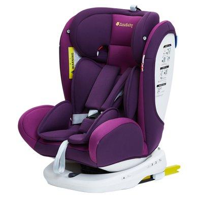 ZazaBaby宝宝汽车婴儿童安全座椅isofix接口0-4-6-12岁360度旋转 Za-精灵骑士plus