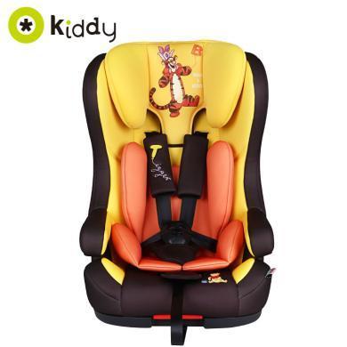 德国kiddy奇蒂Disney迪士尼Genius儿童汽车安全座椅isofix硬接口宝宝汽车车载9个月-12岁儿童安全座椅
