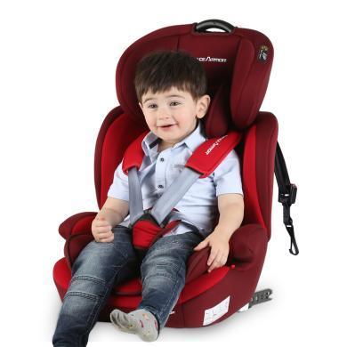 英莱儿 儿童安全座椅0-4-12岁汽车用婴儿宝宝可坐可 aqzy16