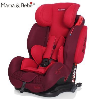 荷蘭Mama&Bebe媽媽寶貝霹靂系列兒童安全座椅isofix硬接口適用于9個月-12歲兒童汽車安全座椅二代
