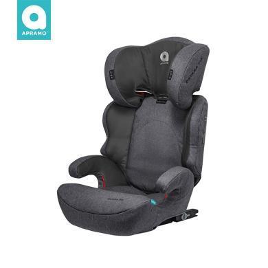 英國apramo安途美寶勒姆OSTARA FIX兒童安全座椅3-12歲寶寶車用7檔簡易便攜isofix車載坐椅