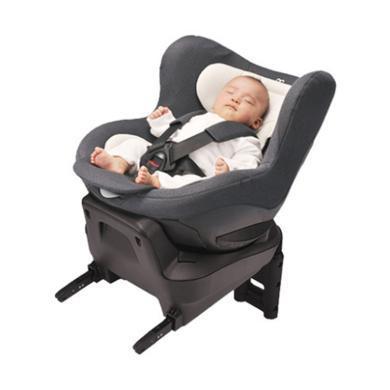 日本AileBebe艾乐贝贝Kurutto酷乐多4i儿童汽车安全座椅360°旋转 isofix接口适用0-4岁儿童