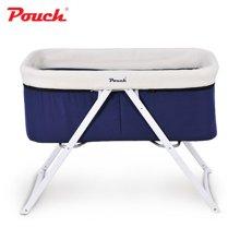pouch H19婴儿床欧式儿童床多功能摇床宝宝床可折叠便携旅行