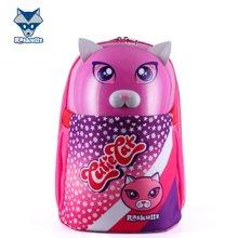 美国raskullz莱斯狐小学生书包双肩男儿童卡通粉红Kitty减负幼儿园背包-3-8岁