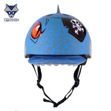 美国raskullz莱斯狐平衡车儿童头盔骑行轮滑宝宝安全帽夏季男女宝头盔护具套装-小码2-7岁