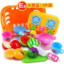 儿童过家家厨房快乐切切蔬菜玩具宝宝餐具做饭3-6岁女孩男孩YZQD980-1