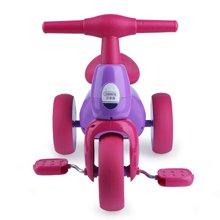 贝恩施儿童三轮车脚踏车婴儿手推自行车男女宝宝轻便童车1-2-3岁