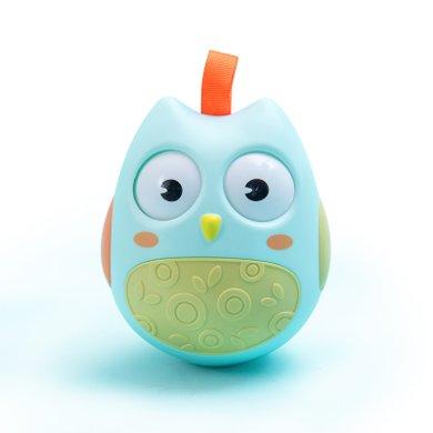 澳樂嬰兒玩具不倒翁點頭娃娃3-6-9-12個月寶寶0-1歲早教益智