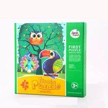 美乐 拼图儿童益智玩具幼儿大块拼图 积木玩具早教拼图宝宝拼图