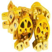 聚优信是台湾进口的创意品牌 金刚魔组 变形DIY铝合金创新好玩的玩具 型号FHH