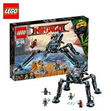 新品乐高幻影忍者大电影系列 70611水忍者的水上战斗机甲 LEGO 积木玩具