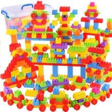 儿童塑料拼装拼插小号积木玩具儿童早教益智男孩女孩宝宝玩具800粒装YZQD1689-15